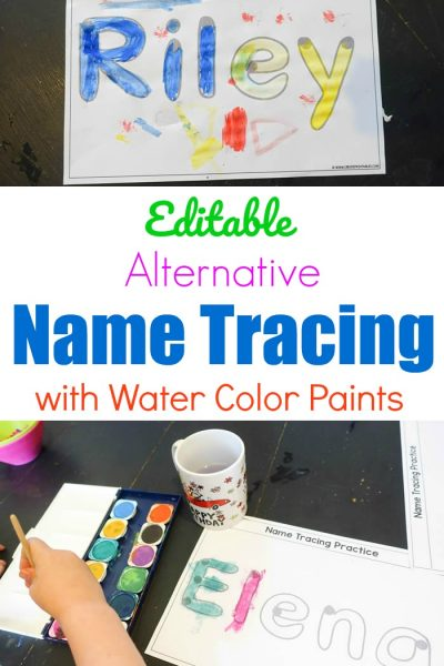 Editable Alternative Name Tracing with Paint